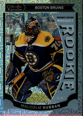 2015-16 O-Pee-Chee Platinum Marquee Rookies Traxx Choose From