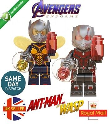 Ant-man And The Wasp Lego Fit Figure Ant Man Marvel Avengers End Game UK Seller