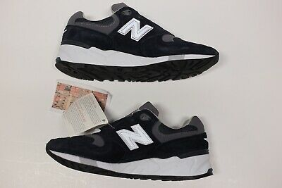 eed89a8483a81 NEW New Balance 999 M999CBL Made In USA Navy Grey Pewter Running Shoe Size  5 D