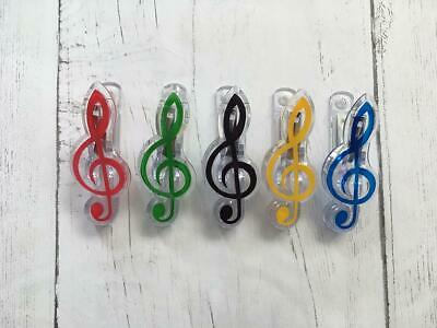 Sheet Music Clip Symbol Stand Secure Holder Musical Notes Treble Clef