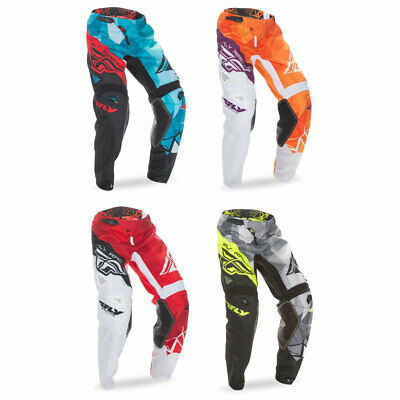 FLY RACING MX Motocross MTB 2017 Kinetic RELAPSE Pants Choose Size Teal//Red