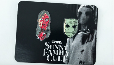 New Loot Crate Exclusive Sunny Family Cult Pin Set