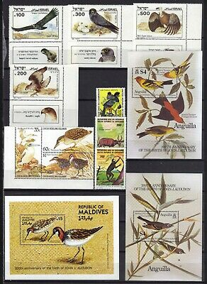 Stamps World Wide Mnh  Lot Of 10 Stamps And 3 S/S Catalog $ 18.00 Ref 1178 620