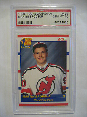Martin Brodeur 1990 91 Score 439 Devils Rookie Rc Hockey Card