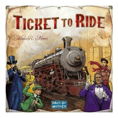 Authentic Ticket to Ride Board Game by Days of Wonder New in Sealed Box
