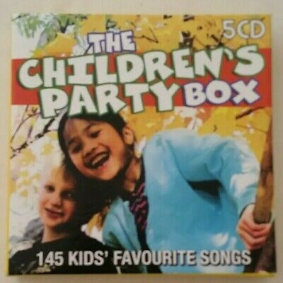 The Children's Party Box [5 CDs, 145 Kids Favourite Songs] (2007, MRA Ent.)