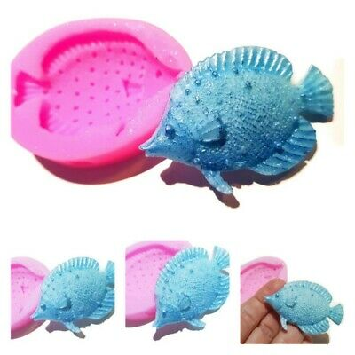 SPOTTY FISH Dotted Silicone Mould Mold: Soap / Candle , Resin, Fun Shape