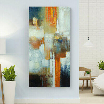Abstract Hand Painted Oil Painting Modern Wall Art Canvas Home Decor Framed