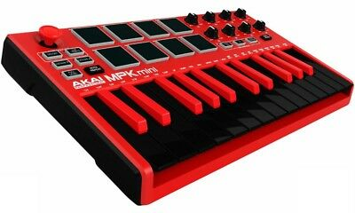 Akai Professional MPK mini MKII Red MIDI Limited Edition