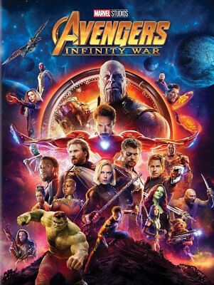 Avengers Infinity War (DVD) REGION 1 DVD (USA) Brand New and Sealed