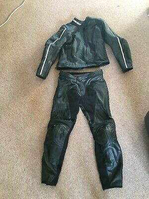 Ladies size 10 Dainese 2 piece Leathers excellent condition barely used
