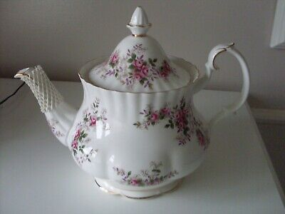 Beautiful Royal Albert Lavender Rose 2 Pint Teapot 1St Quality Pristine 1961