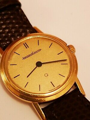 Vintage 18ct solid Gold Jaeger Le Coultre Watch