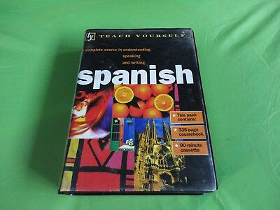 Teach Yourself Spanish Boxset Cassette Tapes And Book Complete Course Speak Writ