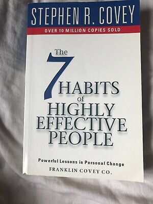 7 Habits Of Highly Effective People by Stephen R. Covey (Paperback, 1999)