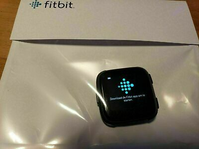 Fitbit Versa Fitness Smartwatch Pebble | NEW | No charger/strap | Free Shipping