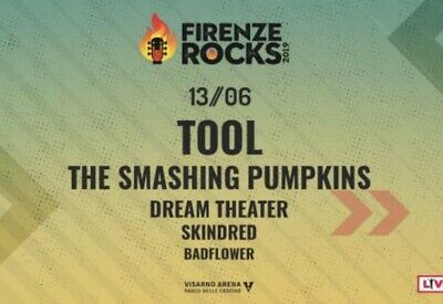 3 Biglietti per TOOL + The Smashing Pumpkins