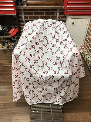 Barber Cape Hairdressing Hair Stylist Cutting Gown Bleeding-G