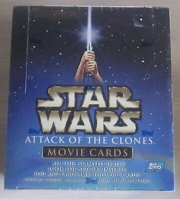 Tradingcard Box - Star Wars Episode 2 - Attack of the Clones  - versiegelte Box