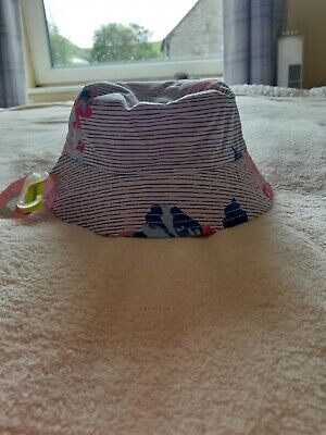 Joules Baby Sunseeker Reversible Hat  6/12 Months