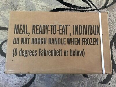 Military MRE Meals Ready to Eat Survival Ration 12 Meals RANDOM CASE 2018 INSP