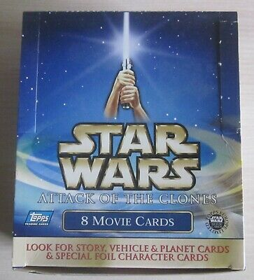 Tradingcard Box - Star Wars Episode 2 - Attack of the Clones  - UK Edition