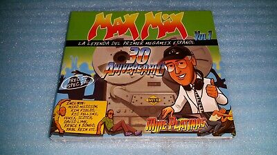 MAX MIX 30 Aniversario vol. 1 ***Expanded Remastered** 3CD***New & Sealed
