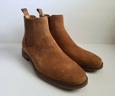 3d1396fd851c1 Sperry Gold Cup Exeter Chelsea Suede Boots Mens Size 11 Brown Dark Snuff