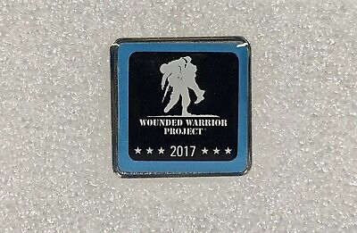 2017 WOUNDED WARRIOR Project Military Lapel Hat Pin ~ Militaria