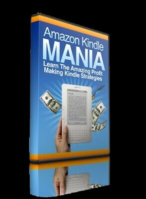 Amazon Kindle Mania  Pdf ebook Free Shipping With master Resell Rights