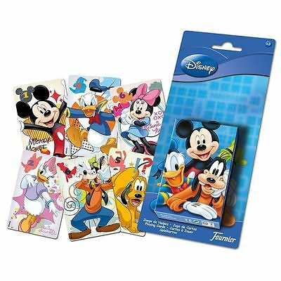 Original Disney Mickey Donald Goofy Baraja Coleccion Heraclio Fournier Cartas //