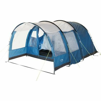 Trespass Go Further 6 Man 2 Room Tent with Carpet Hydrostatic head 3000mm