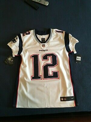 79a4f31c902 TOM BRADY #12 MEN'S NIKE NFL PLAYER GAME JERSEY. SIZE 44 NEW with TAGS
