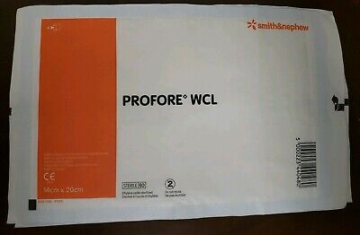 """Profore WCL Wound Contact Layer Dressing 5.5"""" x 8"""" (Lot of 40), # 66000701"""