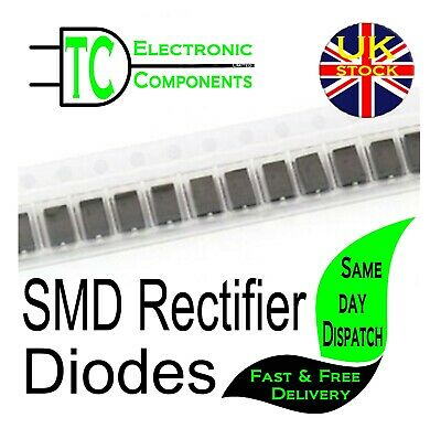 SMD Rectifier Diodes Many types available 10pack **UK SELLER** Free P&P