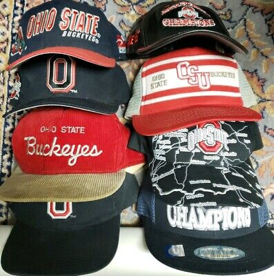 brand new 7fe69 15fb8 Lot of 8 Ohio State Buckeyes Hats  Sports Specialties, The Game, OSU,