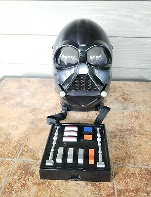 Star Wars Darth Vader 2004 Electronic Voice Changer Helmet Mask with control