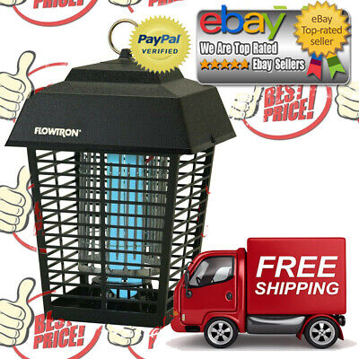 Flowtron Electronic Flying 1/2 Acre Insect Controller Mosquito Bug Zapper Light