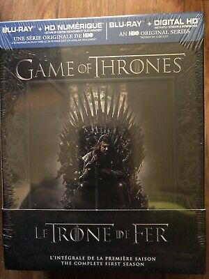 Game of Thrones: The Complete First Season Gift Box (Blu-ray Disc, Bilingual)new