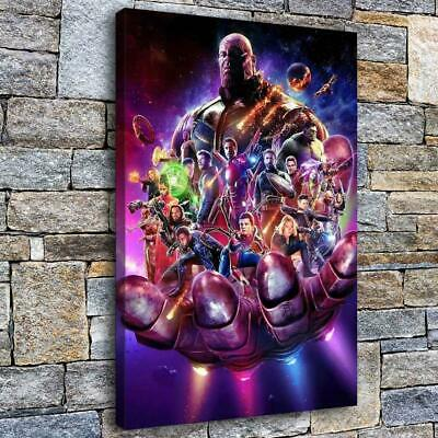 """Avengers endgame Poster HD Canvas Painting Home Decor Picture Wall art 16""""x24"""""""