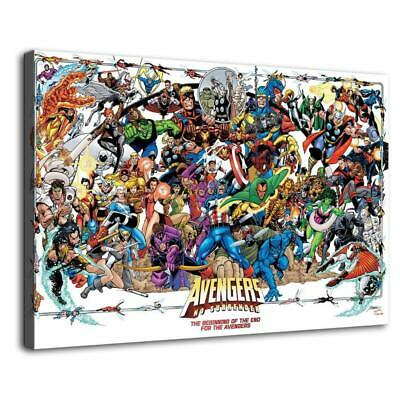 Marvel hero HD Print Painting on Canvas Home Decor room Wall Art Promotion 12x18