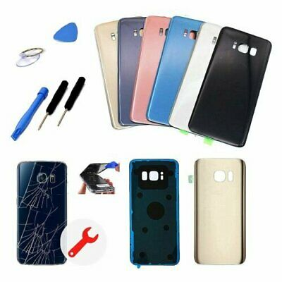 Back Glass Cover Battery Door Replacement For Samsung Galaxy S8 & S8 Plus