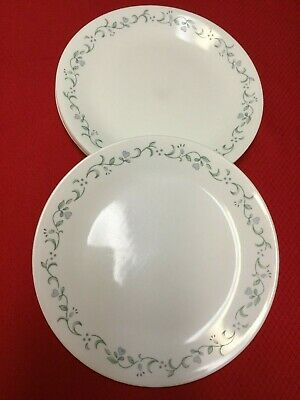 """Set of 6 Corelle COUNTRY COTTAGE Dinner Plates 10.25""""--Good Condition"""