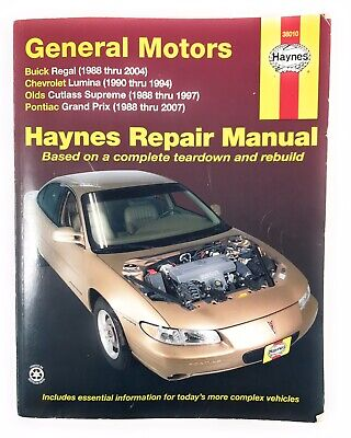 Repair Manual Haynes 38027 fits 04-10 Chevrolet Malibu