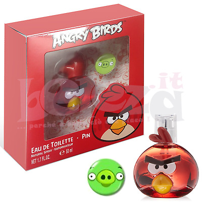 Angry Birds Profumo EDT Red e Medaglia