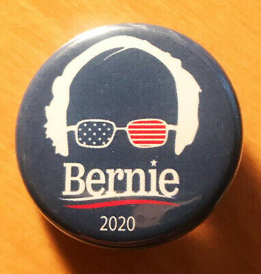 Bernie Sanders 2020 - Button Pin 1.25 inch FREE SHIPPING Revolution Buttons