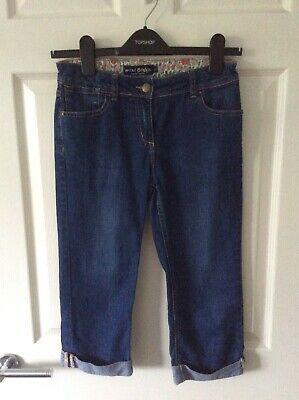 Mini-Boden blue denim cropped jeans (Age 11 years)