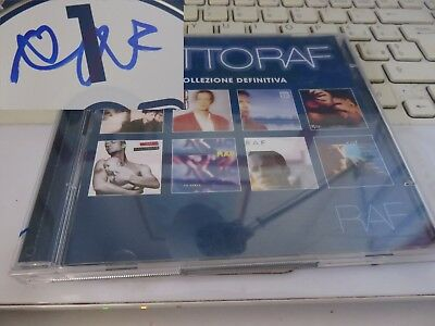 "CD ""TUTTO RAF"" di RAF, AUTOGRAFO ORIGINALE"