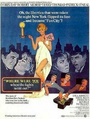 Where were you when the lights went out Doris Day 1968 Movie DVD