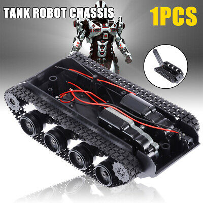 Robot DIY Tank Chassis Car Kit Light Shock Absorbed With 130 Motor 3 - 7 voltage